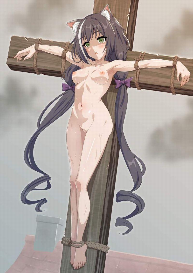 【アダム】十字架に貼り付けにされる女子の二次エロ画像【リリス】【14】