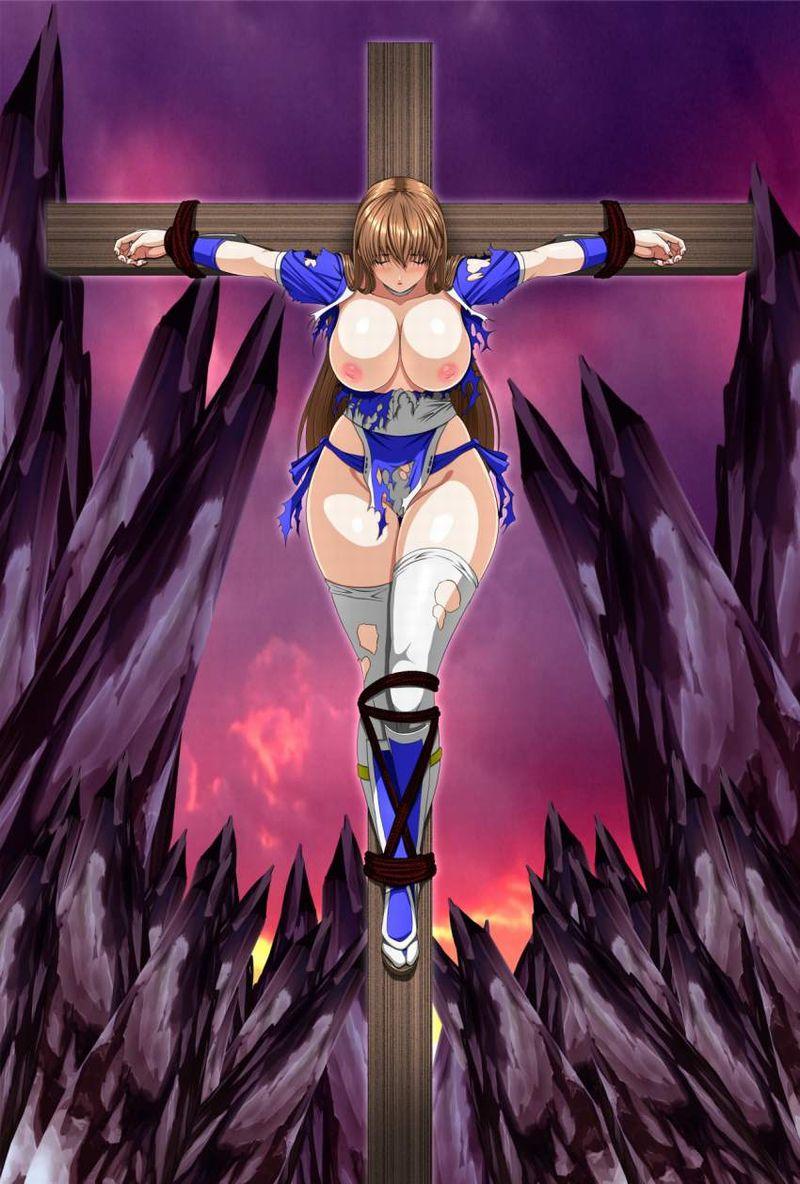 【アダム】十字架に貼り付けにされる女子の二次エロ画像【リリス】【27】