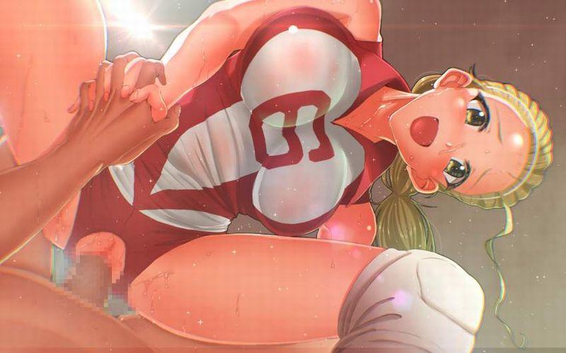 【選手村】バレーボールユニフォーム姿でセックスしてる二次エロ画像【14】