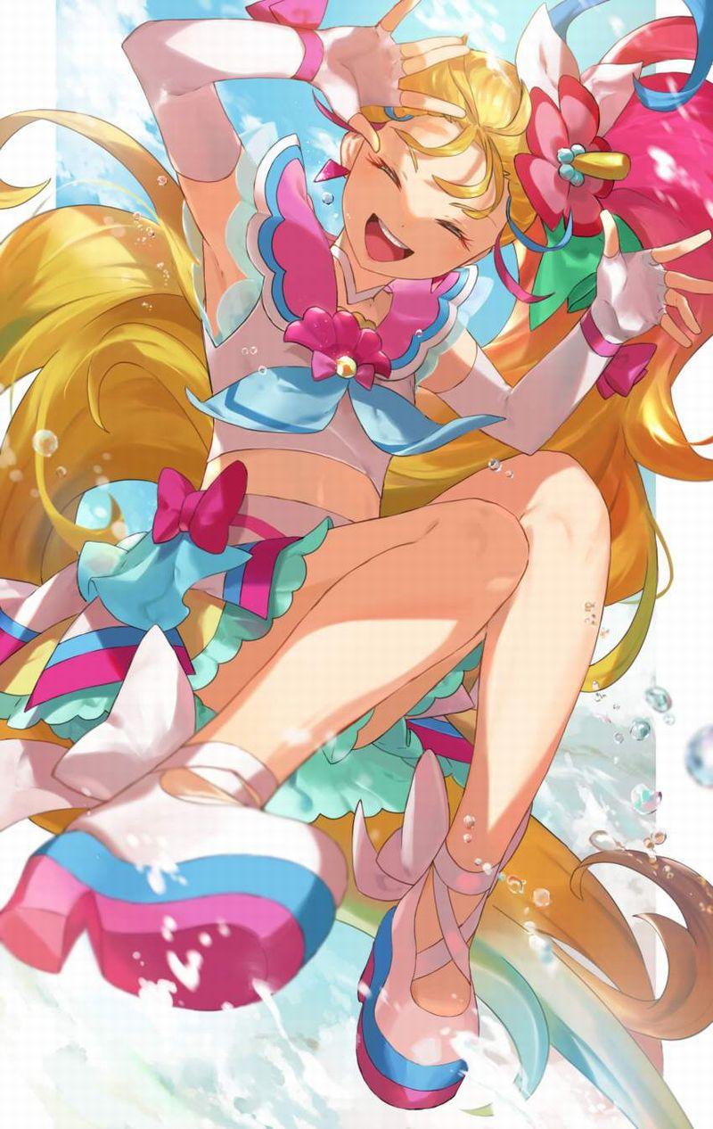 【トロピカル~ジュ!プリキュア】夏海まなつ(キュアサマー)のエロ画像【4】