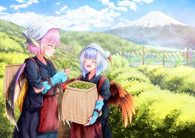 【フジロック2021終了】富士山と女子の二次画像【21】