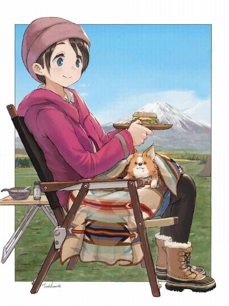 【フジロック2021終了】富士山と女子の二次画像【24】
