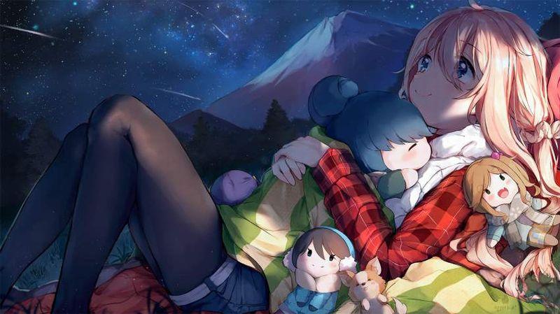 【フジロック2021終了】富士山と女子の二次画像【31】