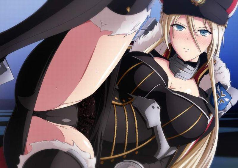 【アズールレーン】ビスマルク(Bismarck)のエロ画像【アズレン】【1】