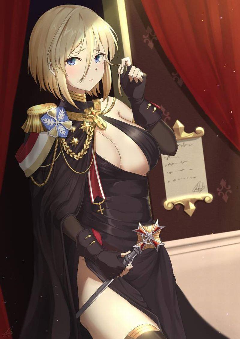【アズールレーン】ビスマルク(Bismarck)のエロ画像【アズレン】【39】