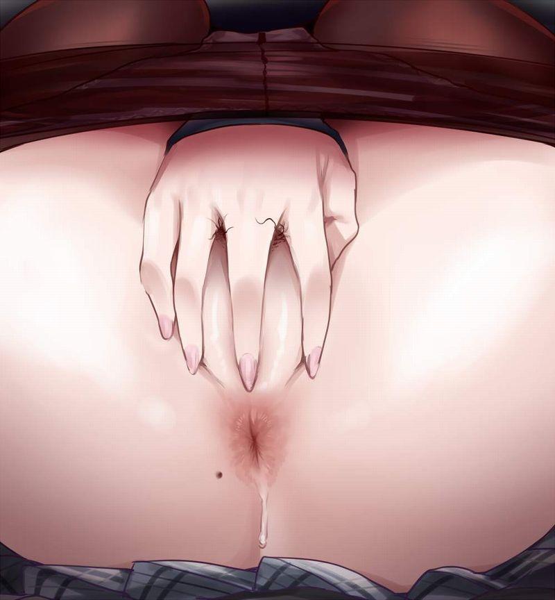 【活火山の噴火口】肛門どアップ!!な二次エロ画像【2】