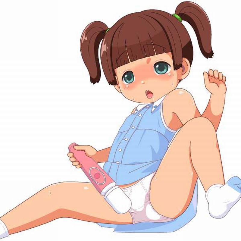 【あくまで健康器具】電マでオナる女子達の二次エロ画像【26】