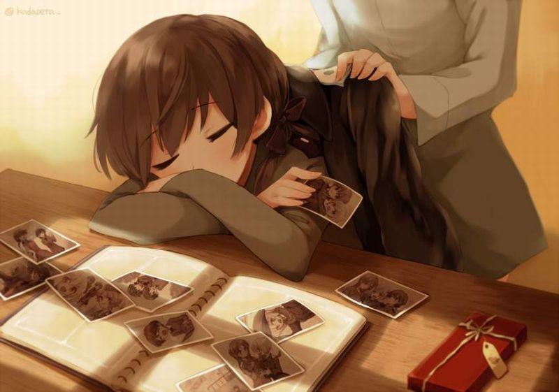 【仮眠】デスクに突っ伏してうたた寝してる女子たちの二次画像【19】