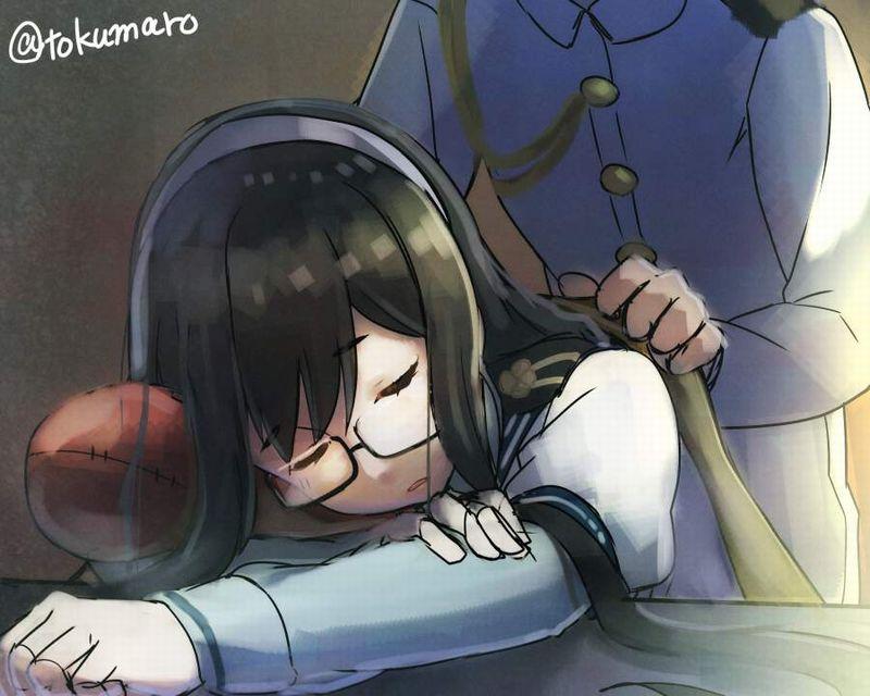 【仮眠】デスクに突っ伏してうたた寝してる女子たちの二次画像【37】