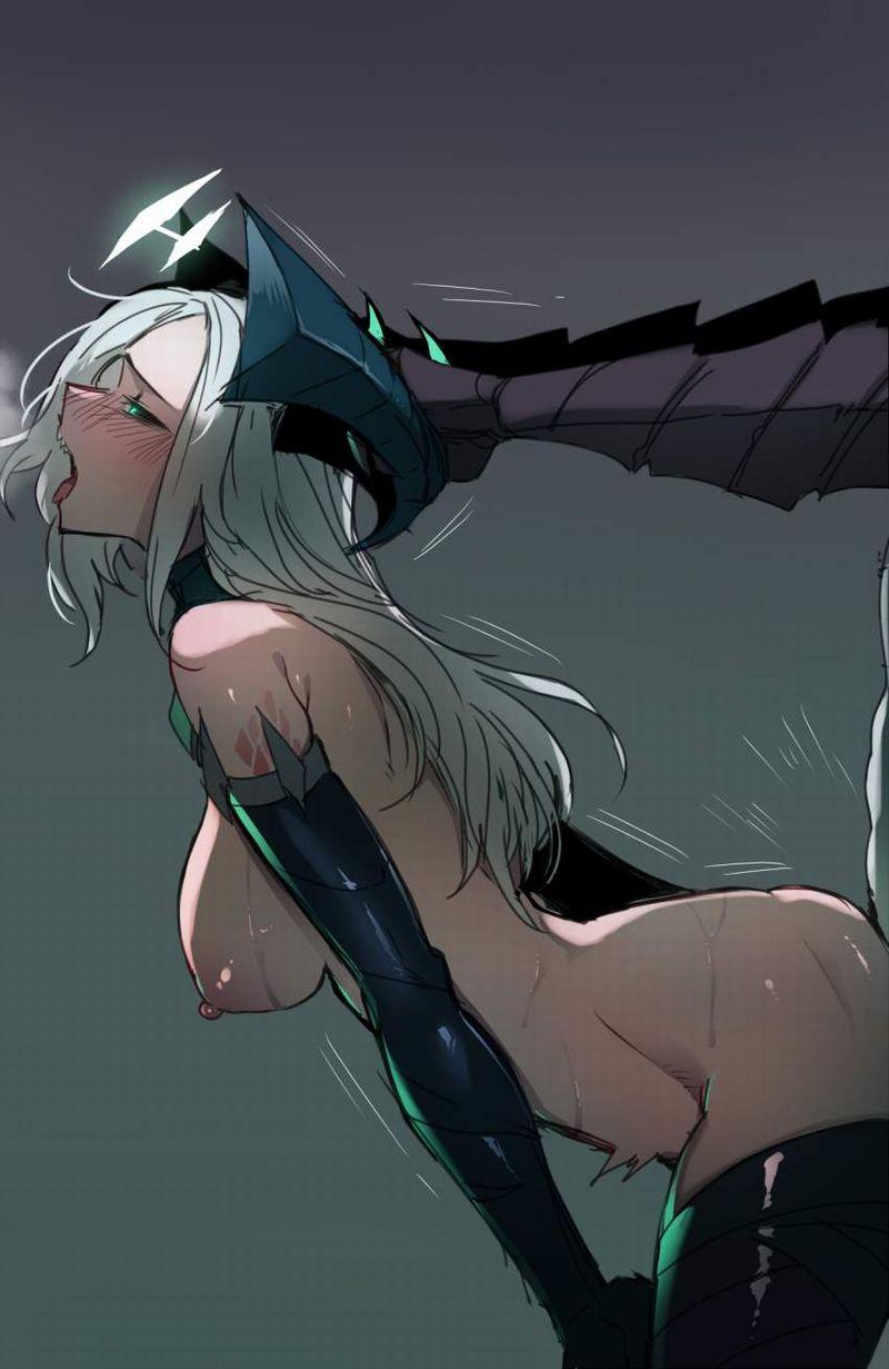 【息を切らしてさ】激しい性行為で呼吸が荒い女子たちの二次エロ画像【29】