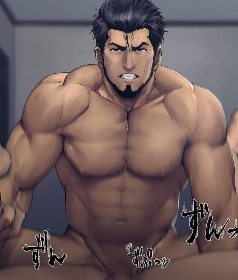 【ゲイ術の秋】濃厚なホモセックスに興じるガチムチ男達の本格派な二次BL画像【3】