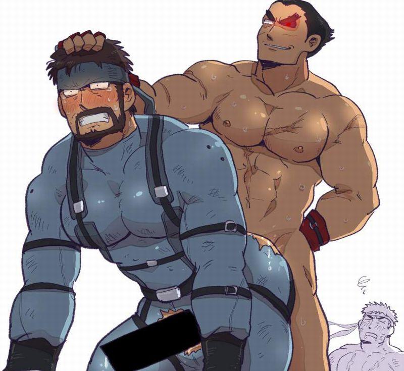 【ゲイ術の秋】濃厚なホモセックスに興じるガチムチ男達の本格派な二次BL画像【12】