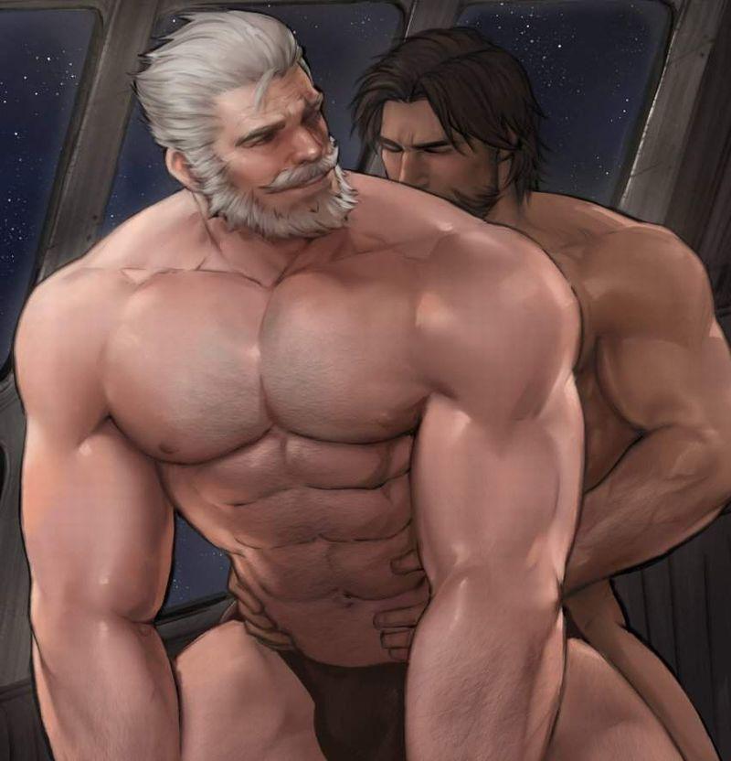 【ゲイ術の秋】濃厚なホモセックスに興じるガチムチ男達の本格派な二次BL画像【21】