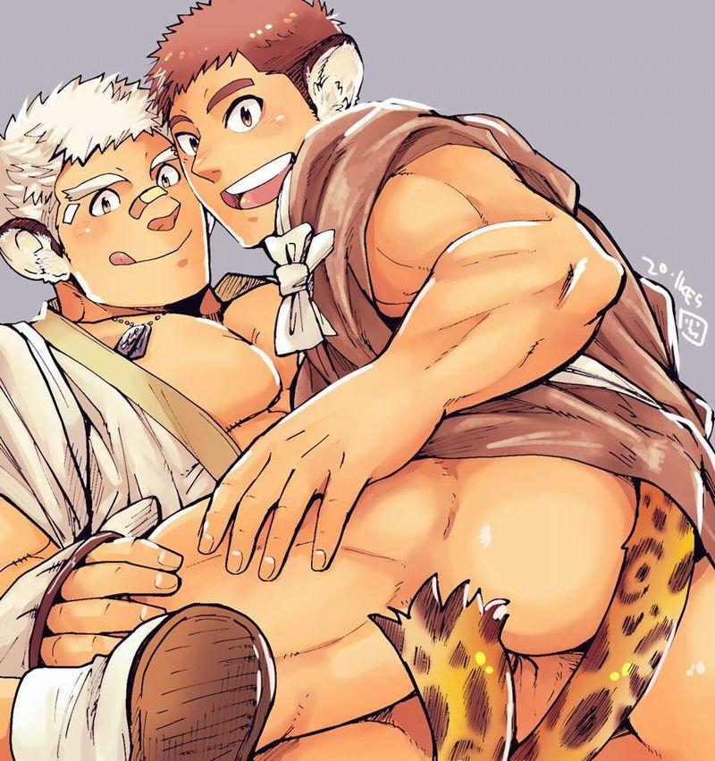 【ゲイ術の秋】濃厚なホモセックスに興じるガチムチ男達の本格派な二次BL画像【23】