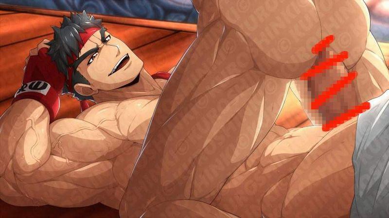 【ゲイ術の秋】濃厚なホモセックスに興じるガチムチ男達の本格派な二次BL画像【27】