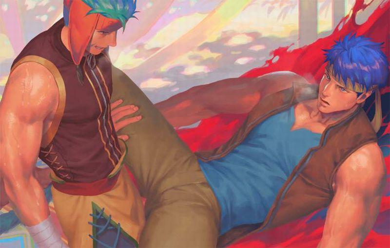 【ゲイ術の秋】濃厚なホモセックスに興じるガチムチ男達の本格派な二次BL画像【32】