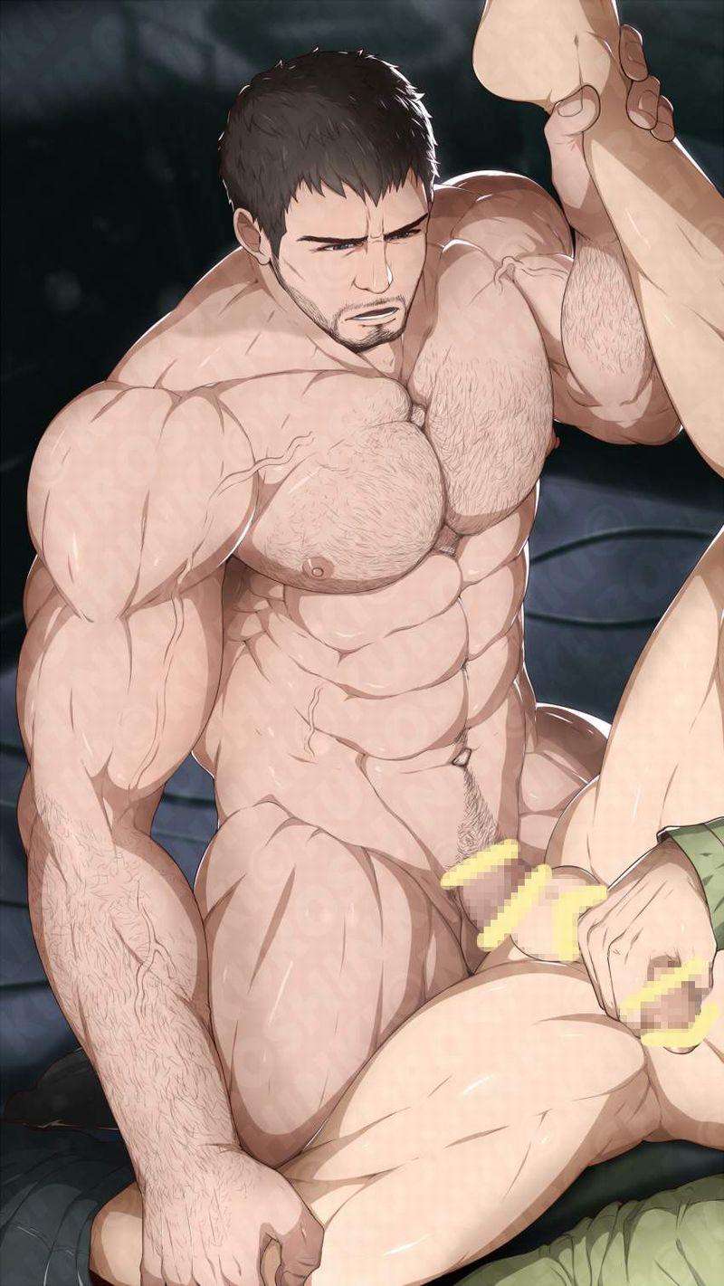 【ゲイ術の秋】濃厚なホモセックスに興じるガチムチ男達の本格派な二次BL画像【35】