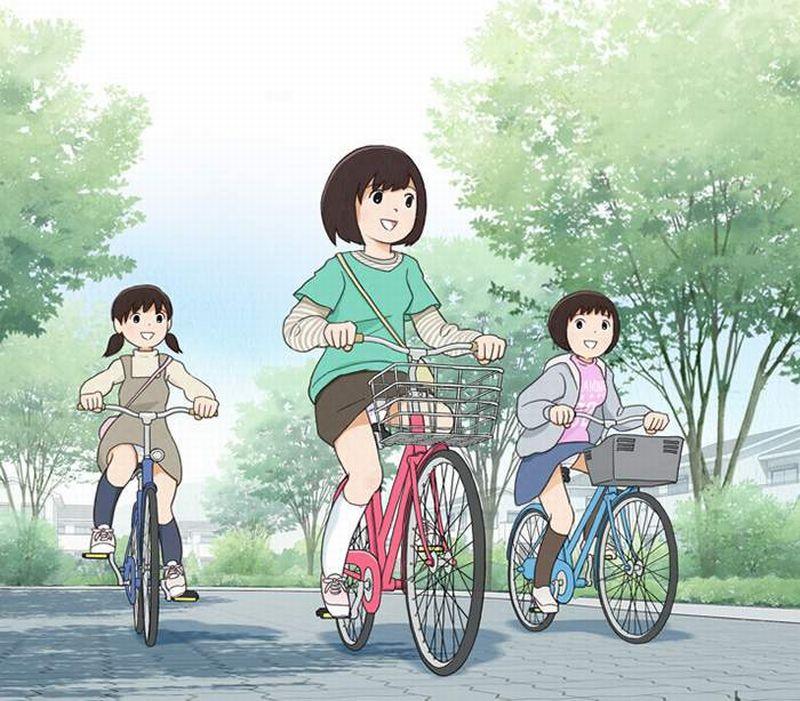 【偶然の産物】自然な自転車パンチラの二次エロ画像【22】
