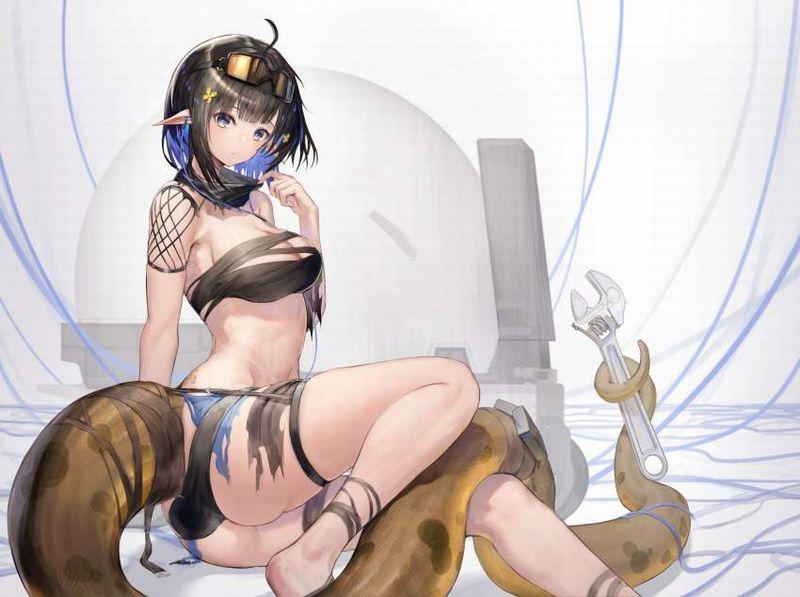 【アークナイツ】ユーネクテス(Eunectes)のエロ画像【42】