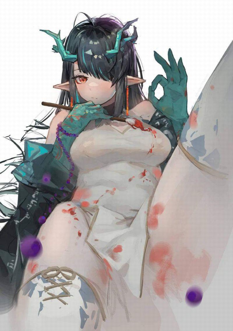 【アークナイツ】シー(ダスク/Dusk)のエロ画像【18】