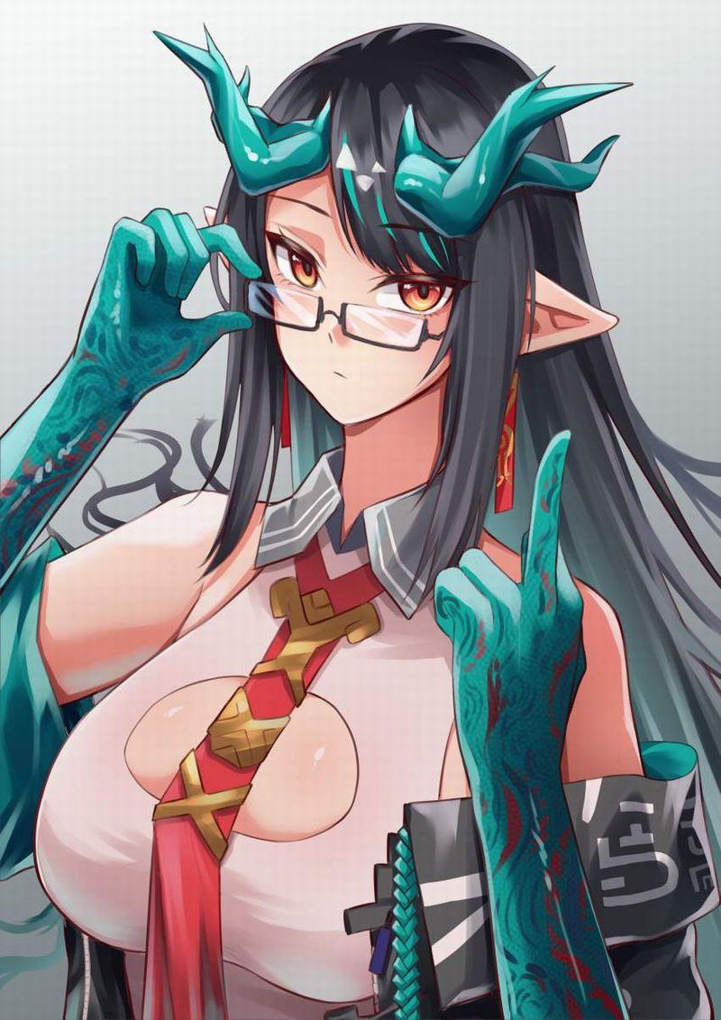 【アークナイツ】シー(ダスク/Dusk)のエロ画像【19】