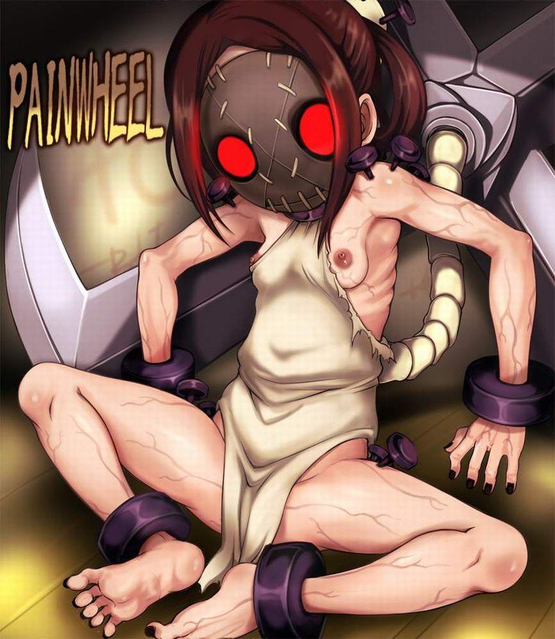 【Skullgirls】ペインホイール(Painwheel)のエロ画像【1】