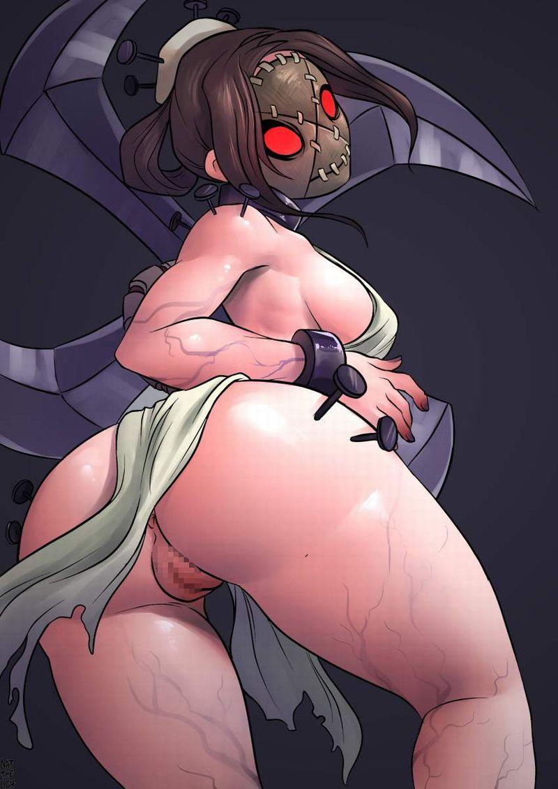 【Skullgirls】ペインホイール(Painwheel)のエロ画像【9】