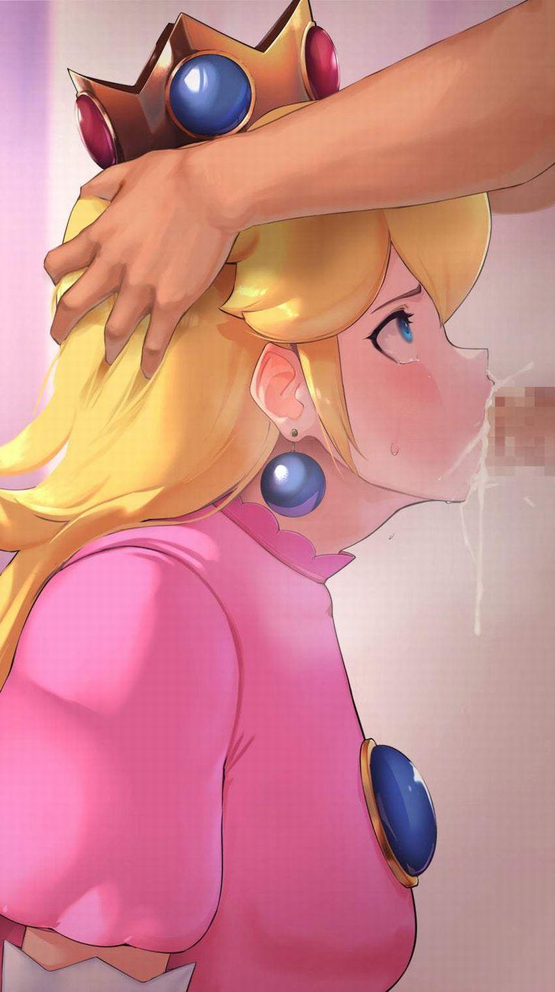 【スーパーマリオ】ピーチ姫(Princess Peach)のエロ画像【4】
