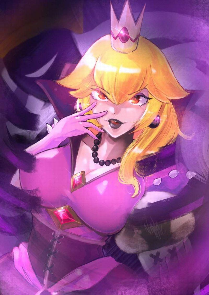 【スーパーマリオ】ピーチ姫(Princess Peach)のエロ画像【48】