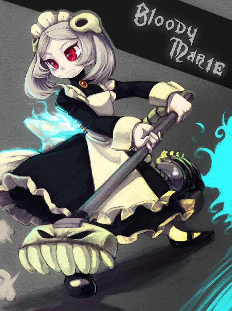 【Skullgirls】マリー(BloodyMarie)のエロ画像【6】
