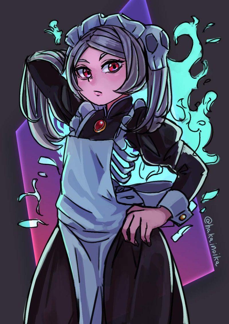 【Skullgirls】マリー(BloodyMarie)のエロ画像【20】