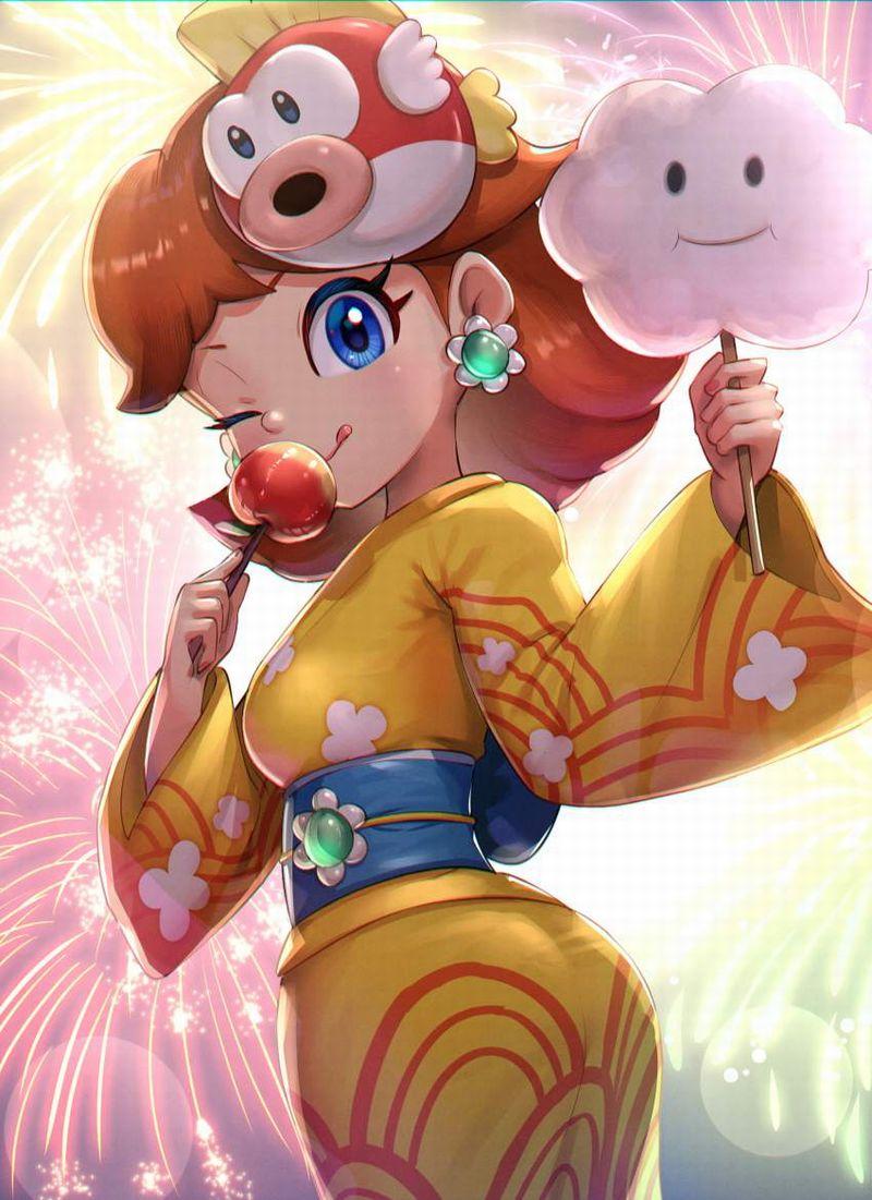 【スーパーマリオ】デイジー姫(Princess Daisy)のエロ画像【10】