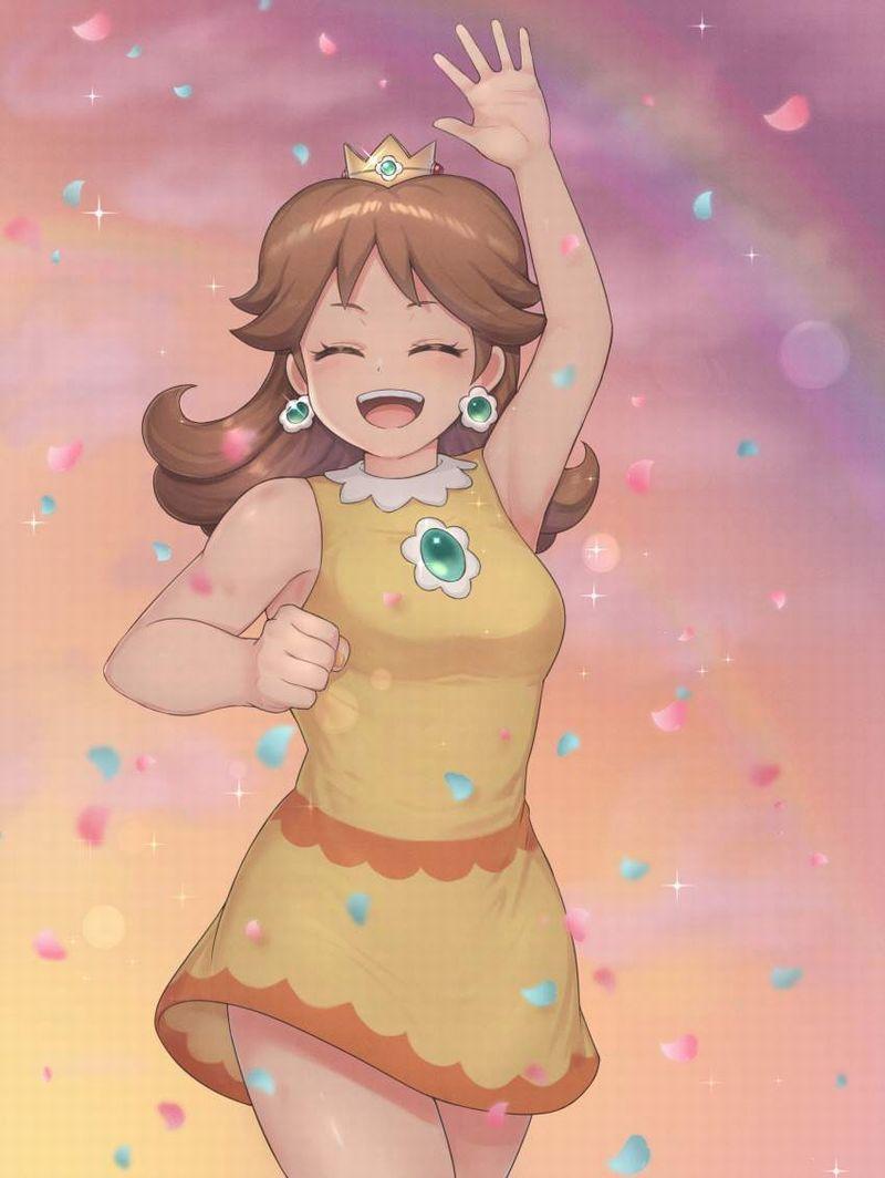 【スーパーマリオ】デイジー姫(Princess Daisy)のエロ画像【27】