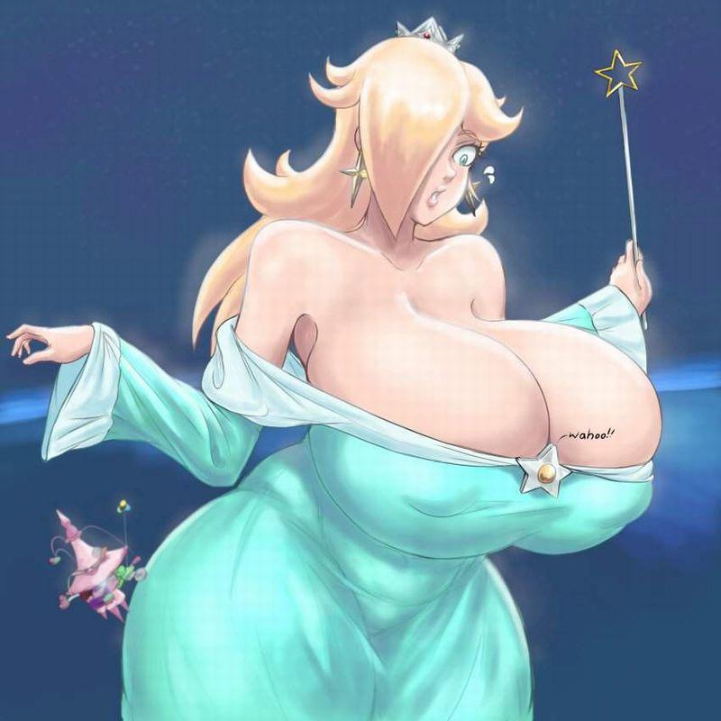 【スーパーマリオ】ロゼッタ(Rosalina)のエロ画像【31】