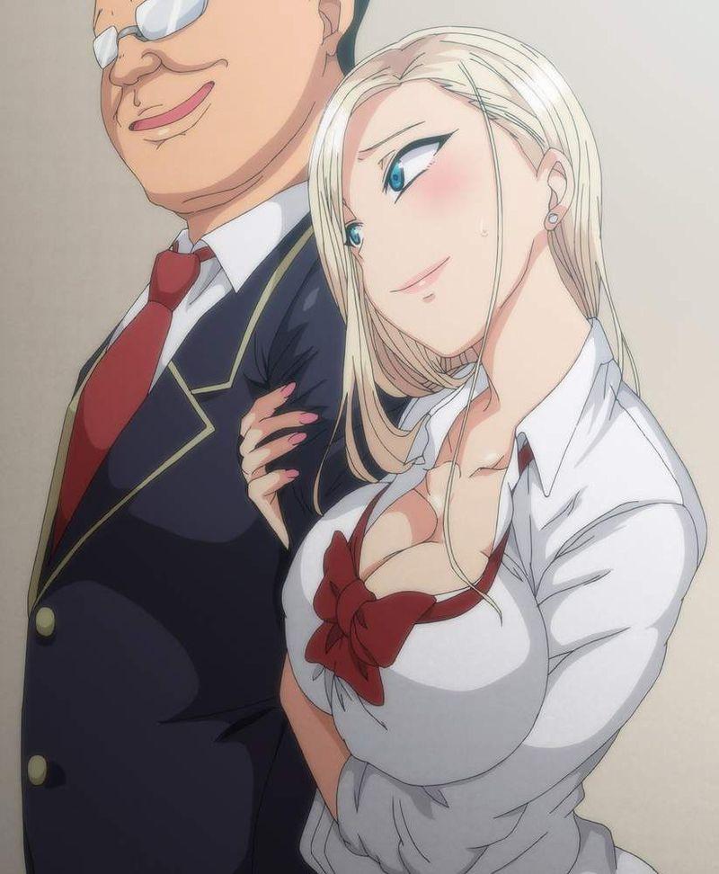 【資本主義社会の縮図】金持ってそうなオッサンが若い女を抱いてる二次エロ画像【38】