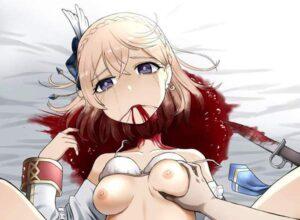 【下半身さえあればいい】斬首済み女性にチンコ挿入してる二次エロ画像