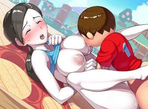 【スマブラ】WiiFitトレーナーのエロ画像【大乱闘スマッシュブラザーズ】