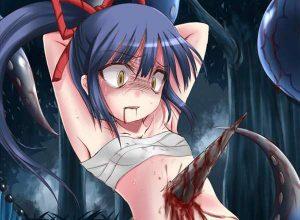 【もずのはやにえ】串刺しになってる女子達の二次リョナ画像